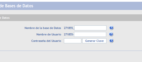¿Cómo crear una Base de Datos?
